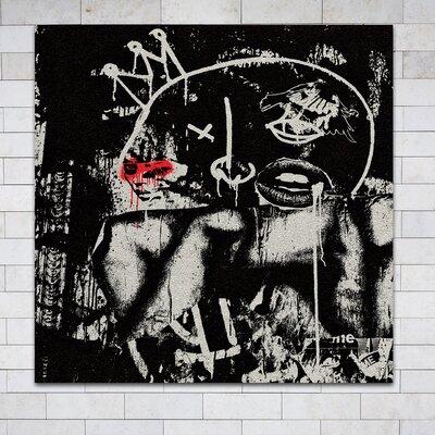 'Blind King' Framed Painting Print