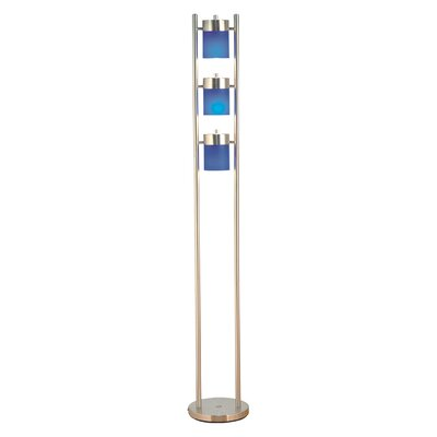 ORE Furniture 3 Light Adjustable Floor Lamp