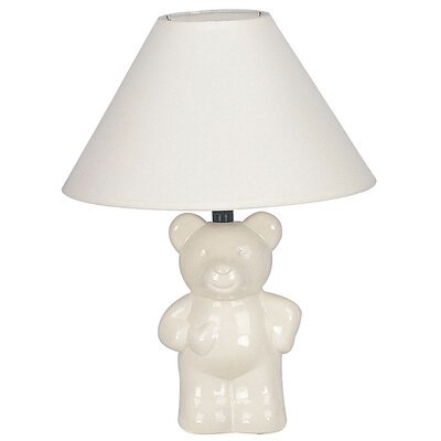 ORE Furniture Ceramic Teddy Bear Table Lamp