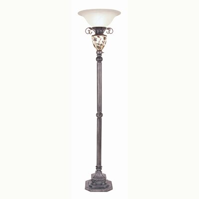 ORE Furniture Floor Lamp with Night Light