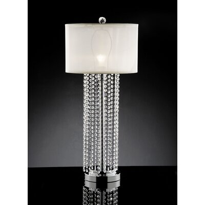 """ORE Furniture Simple Elegance 29.75"""" H Table Lamp with Drum Shade"""