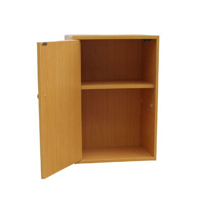 ORE Furniture Adjustable Book Shelf with Door