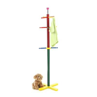 ORE Furniture Kid's Pencil Style Coat Rack