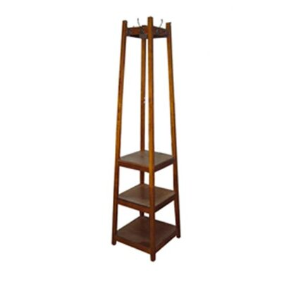 ORE Furniture 3 Tier Tower Shoe / Coat Rack