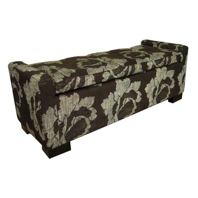 ORE Furniture Upholstered Storage Bench