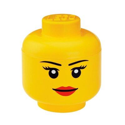 LEGO by Room Copenhagen Girl's Storage Head Toy Box