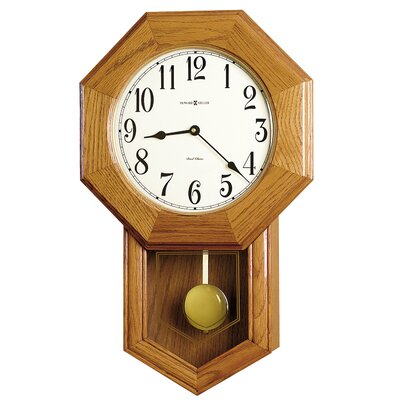 "Howard Miller® Chiming Quartz Elliot 13.5"" Wall Clock"