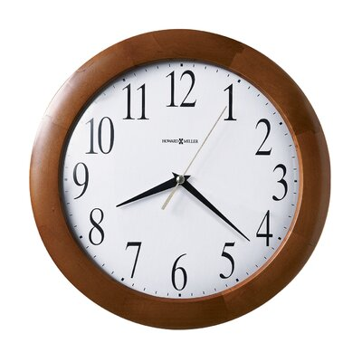 Howard Miller® Corporate Wall Clock