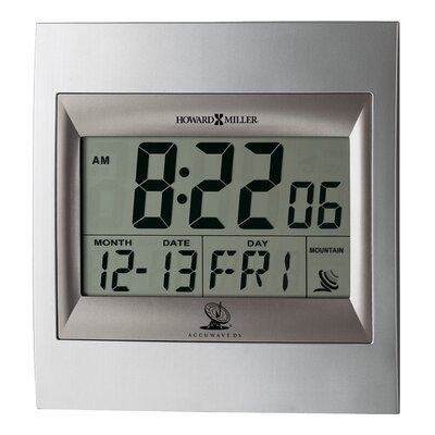 Howard Miller® Techtime II Alarm Clock
