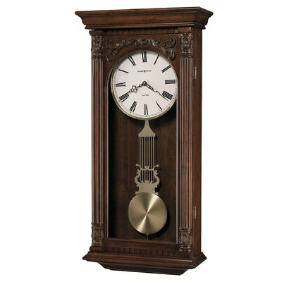 Howard Miller® Chiming Quartz Greer Wall Clock