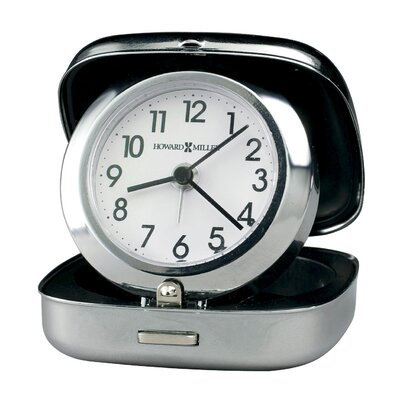 Howard Miller® Clam Shell Alarm Clock