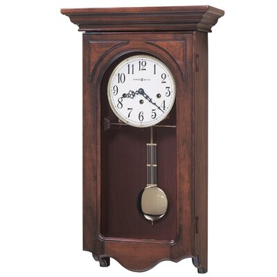Howard Miller® Chiming Key-Wound Jennelle Wall Clock