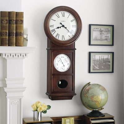 Howard Miller® Chiming Key - Wound Lawyer II Wall Clock