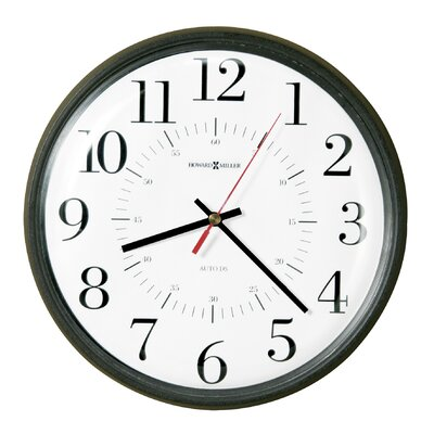 "Howard Miller® Home or Office Alton Quartz 14"" Wall Clock"