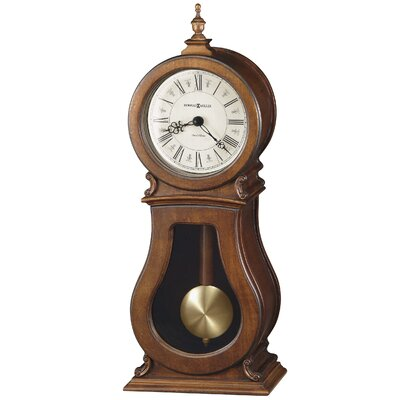 Arendal Mantel Clock in Tuscany Cherry