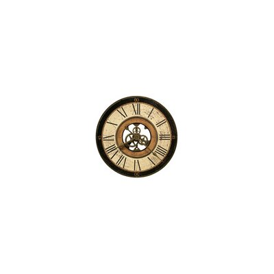 Brass Works Wall Clock
