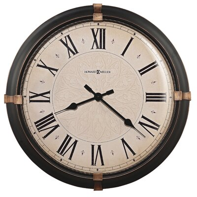 "Howard Miller® Atwater Oversized 24"" Wall Clock"