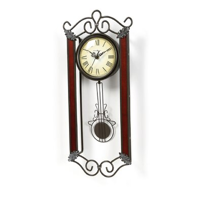 Howard Miller® Decorative Quartz Carmen Wall Clock