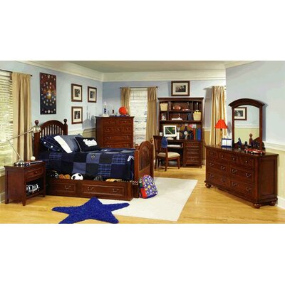 Legacy Classic Furniture American Spirit Low Four Poster Bed