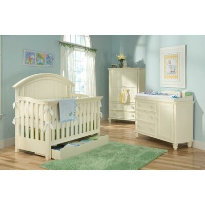 LC Kids Summer Breeze 4-in-1 Convertible Crib Set