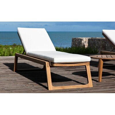 OASIQ Diuna Chaise Lounger with Cushion