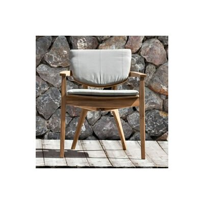 OASIQ Diuna Stacking Dining Arm Chair with Cushion
