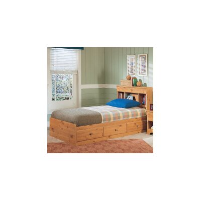 New Visions by Lane Mountain Pine Platform Bedroom Collection