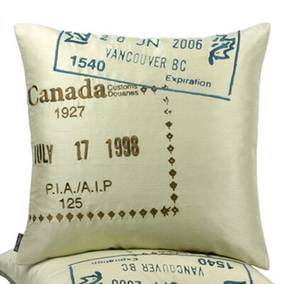 Blissliving Home Canada Passport Pillow