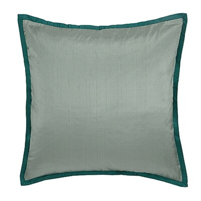 Blissliving Home Caltha Iceberg Euro Sham in Green
