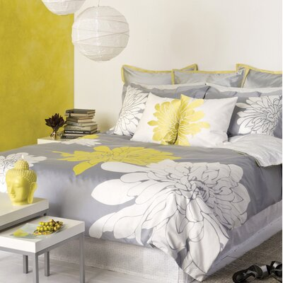Blissliving Home Ashley Citron Duvet Set - Full/Queen
