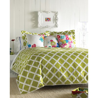 Blissliving Home Kew Green Duvet Set - King