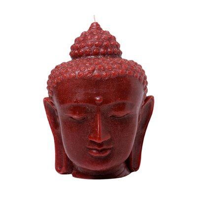 Blissliving Home Currant Buddha Head Novelty Candle