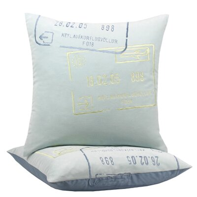 Blissliving Home Iceland Passport Pillow