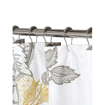 Blissliving Home Evita Cotton Shower Curtain