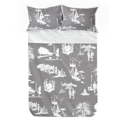 Blissliving Home Madeline 3 Piece Duvet Set