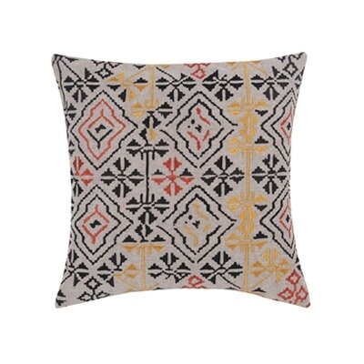 Blissliving Home Pawnee Persimmon Wool / Linen Pillow