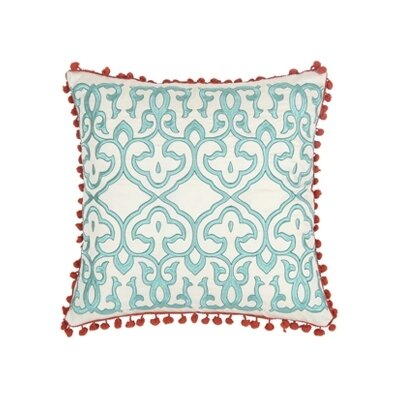 Blissliving Home Abu Dhabi Leena Silk / Linen Pillow