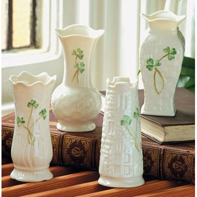 "Belleek 4"" Mini Vases (Set of 4)"