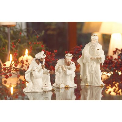 Belleek Holiday Three Piece Kings Set (Set of 3)