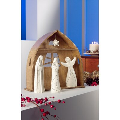 Belleek Living Contemporary Nativity Set