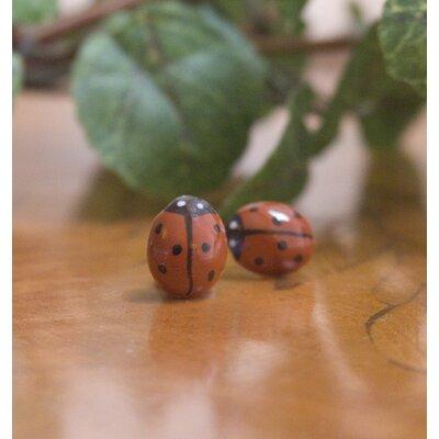 Ladybird Earrings Set (Set of 2)