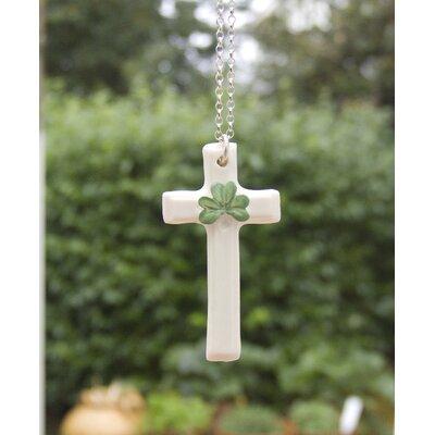 Shamrock Cross Pendant
