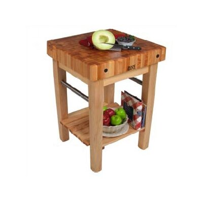 John Boos BoosBlock Pro Prep Table with Butcher Block Top