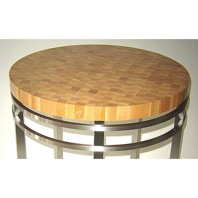 John Boos Metropolitan Designer Oasis Prep Table with Butcher Block Top