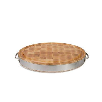 John Boos Gift Oval Reversible Board