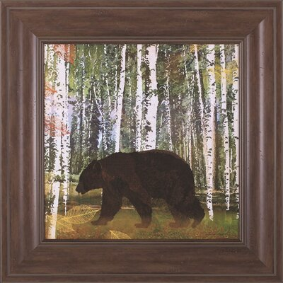 Bear and Elk by Lynnea Washburn Framed Painting Print