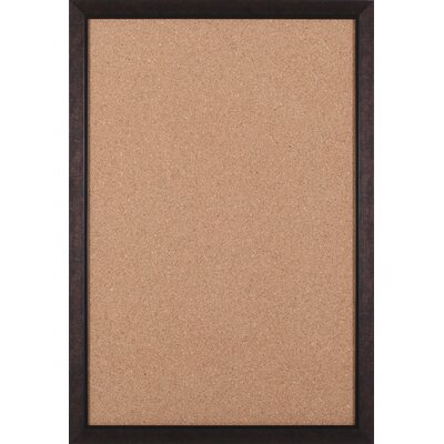 "Art Effects Modern Brown Cork Board - 27"" x 39"""
