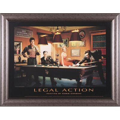 Art Effects Legal Action Framed Artwork