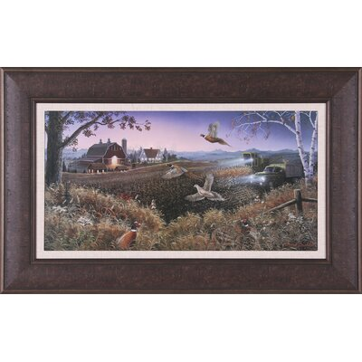 Art Effects Evening Harvest Framed Artwork