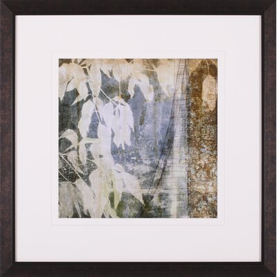 Art Effects Fluttering Leaves Framed Artwork